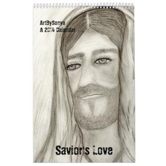 Savior s Love Tall 2014 Calendar