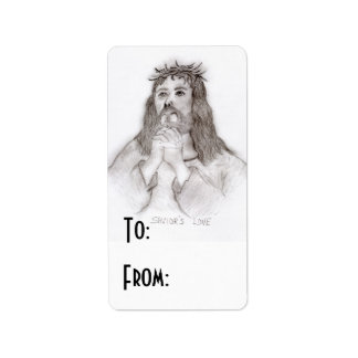 Savior's Love Address Label