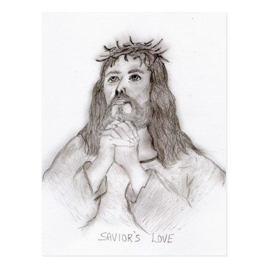 Savior's Love Postcard