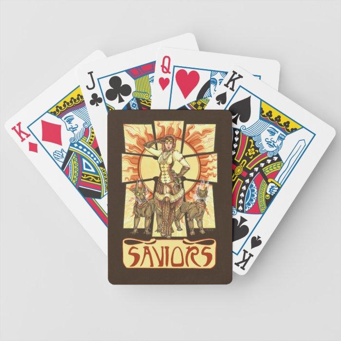 Saviors Playing Cards