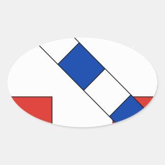 Savoie Oval Sticker