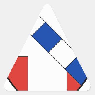 Savoie Triangle Sticker