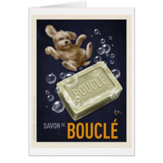 Savon De Boucle Tarjeta