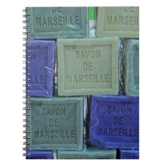 Savon de Marseille Spiral Notebooks