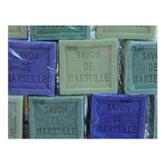 Savon de Marseille Postcard