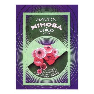 Savon Mimosa 55 5.5x7.5 Paper Invitation Card