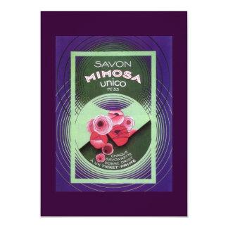 Savon Mimosa 55 5x7 Paper Invitation Card