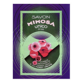 Savon Mimosa Unico 55 Postcard