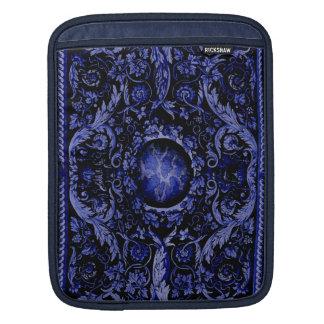 Savonnerie Carpet 1 (Blue) iPad Sleeve