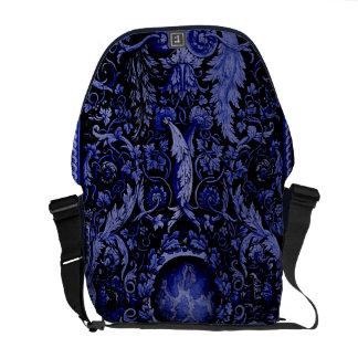 Savonnerie Carpet 1 (Blue) Messenger Bag