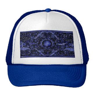 Savonnerie Carpet 1 (Blue) Trucker Hat