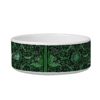Savonnerie Carpet 1 (Green) Bowl