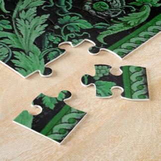 Savonnerie Carpet 1 (Green) Jigsaw Puzzles