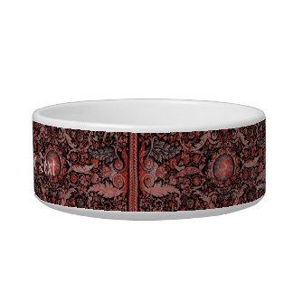 Savonnerie Carpet 1 (Red) Bowl