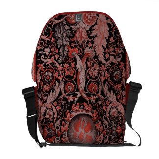 Savonnerie Carpet 1 (Red) Courier Bag