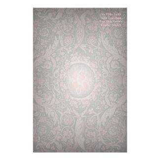 Savonnerie Carpet 1 Red Stationery Design