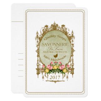 SAVONNERIE ~ Invitation Card