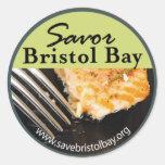 Savor al pegatina de la bahía de Bristol