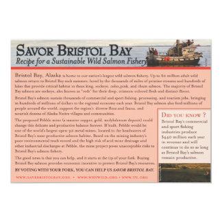 """Savor la bahía de Bristol Invitación 5"""" X 7"""""""