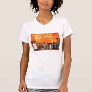 """Savor The Flavor Of Creativity"" Photography T-Shirt"