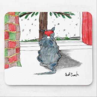 Savor the Season Cat Mousepad