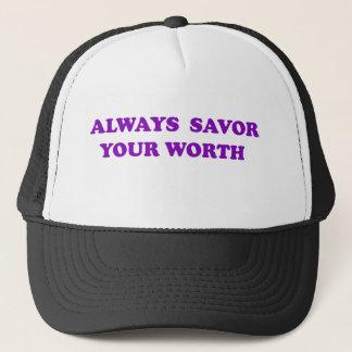 Savor Your Worth Trucker Hat