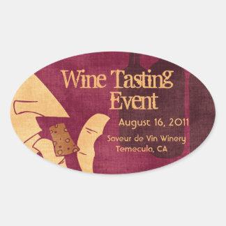 Savoring Wine Sticker