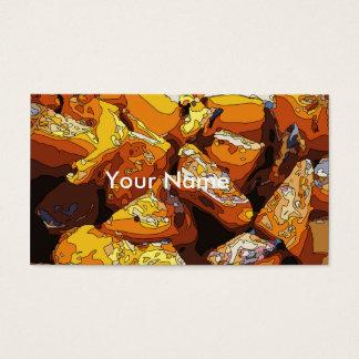 Savory Baked Sweet Potatoes and Raisins Business Card