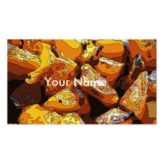 Savory Baked Sweet Potatoes and Raisins Double-Sided Standard Business Cards (Pack Of 100)