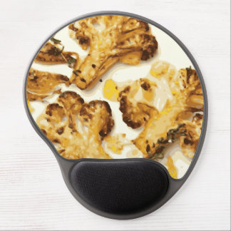 Savory Broccoli and Cauliflower Saute Gel Mouse Mats