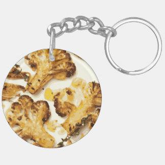 Savory Broccoli and Cauliflower Saute Acrylic Key Chains