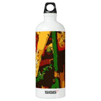 Savory Green Pea and Tomato Veggie Saute Dish Aluminum Water Bottle