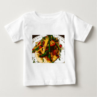 Savory Green Pea and Tomato Veggie Saute Dish Baby T-Shirt