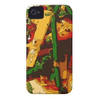 Savory Green Pea and Tomato Veggie Saute Dish iPhone 4 Covers