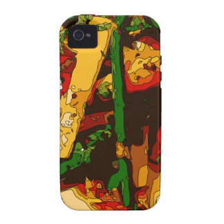 Savory Green Pea and Tomato Veggie Saute Dish Vibe iPhone 4 Cases