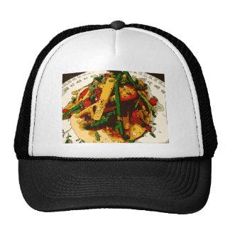 Savory Green Pea and Tomato Veggie Saute Dish Trucker Hat