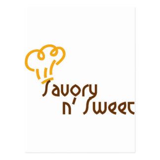 Savory n' Sweet Postcard