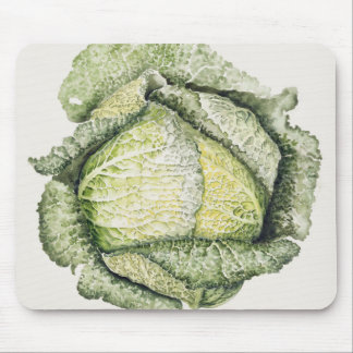 Savoy Cabbage Mouse Pad