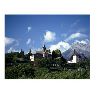 Savoy, France Europe Postcard