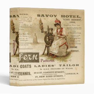 Savoy Hotel 3 Ring Binder