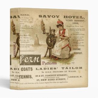 Savoy Hotel 3 Ring Binder