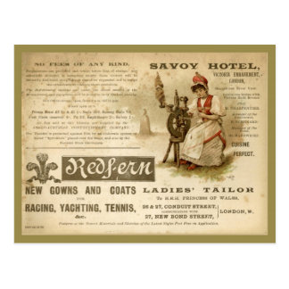 Savoy Hotel Postcard