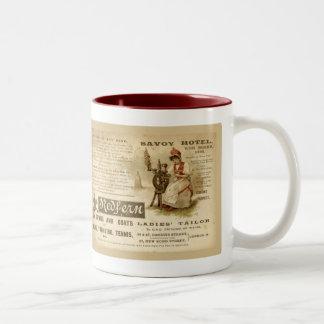 Savoy Hotel Two-Tone Coffee Mug