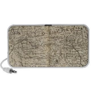 Savoy, Piemont, Montferrat Laptop Speaker