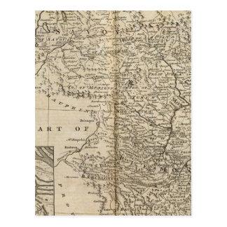 Savoy, Piemont, Montferrat Postcard
