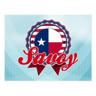 Savoy, TX Post Card