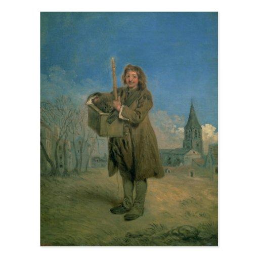 Savoyard con una marmota, 1715-16 postales