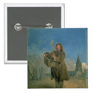 Savoyard with a Marmot, 1715-16 Pinback Buttons