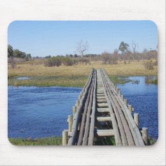 Savute Bridge Mousepads