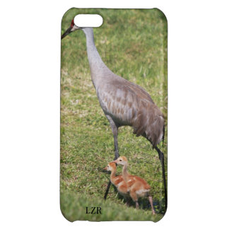 Savvy iPhone 5 case - Sandhill Crane and Chicks